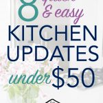 8 easy ways to give your kitchen big style on a small budget