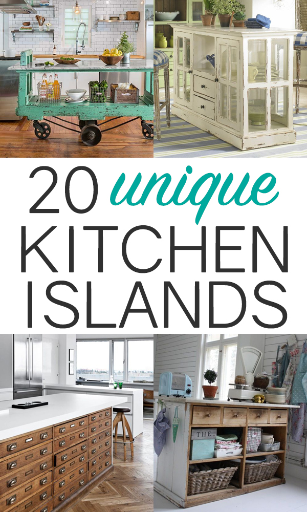 Have You Turned Anything Unusual Into A Kitchen Island?