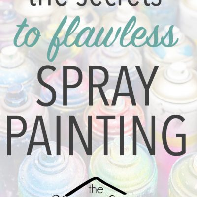 10 Tips to Successful Spray Painting