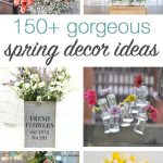 So many great spring decor ideas!