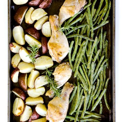 Rosemary Garlic Sheet Pan Chicken