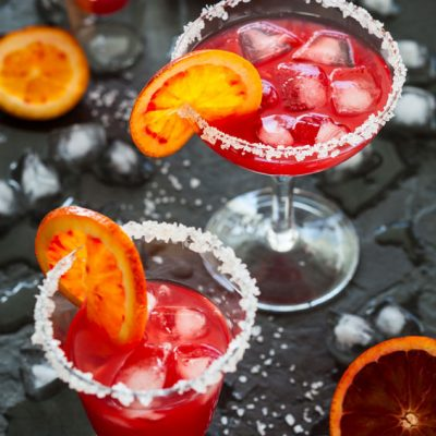 Blood Orange Margarita Recipe On the Rocks