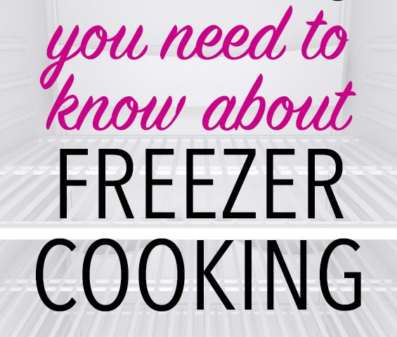 Freezer Cooking FAQs