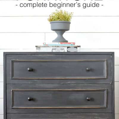 How to Paint Furniture (complete step-by-step directions)