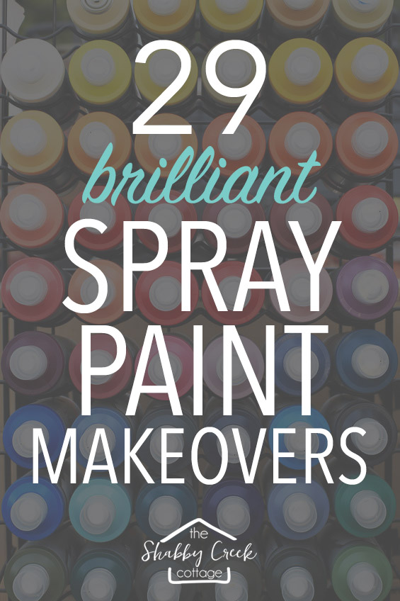 Great ideas for harnessing the power of spray paint!