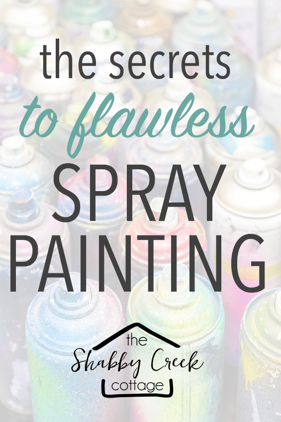 change anything with spray paint!
