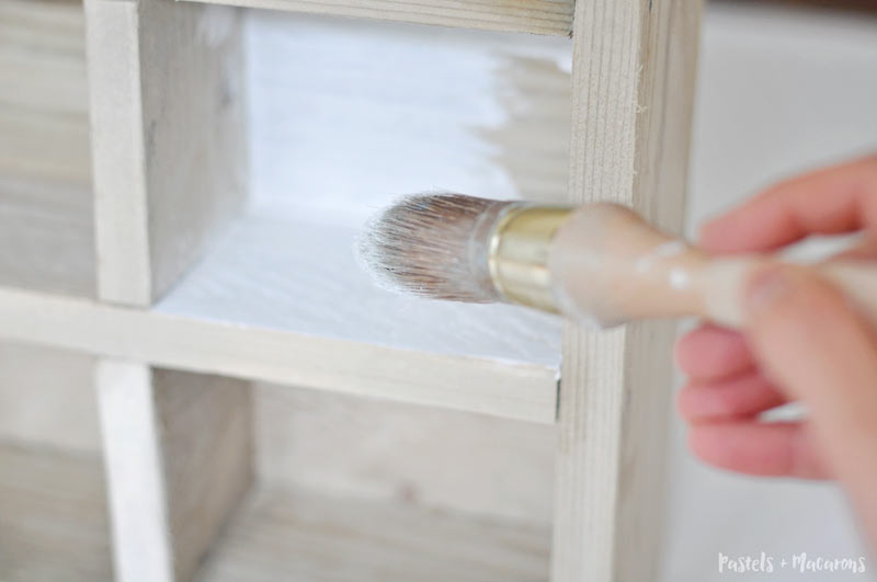 Utensil caddy using chalk paint