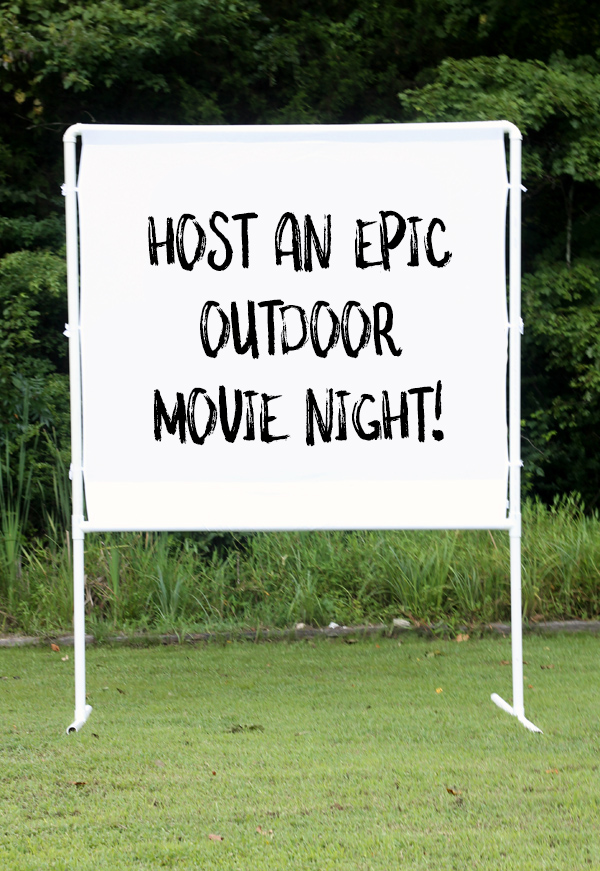 How to Host an Epic Outdoor Movie Night