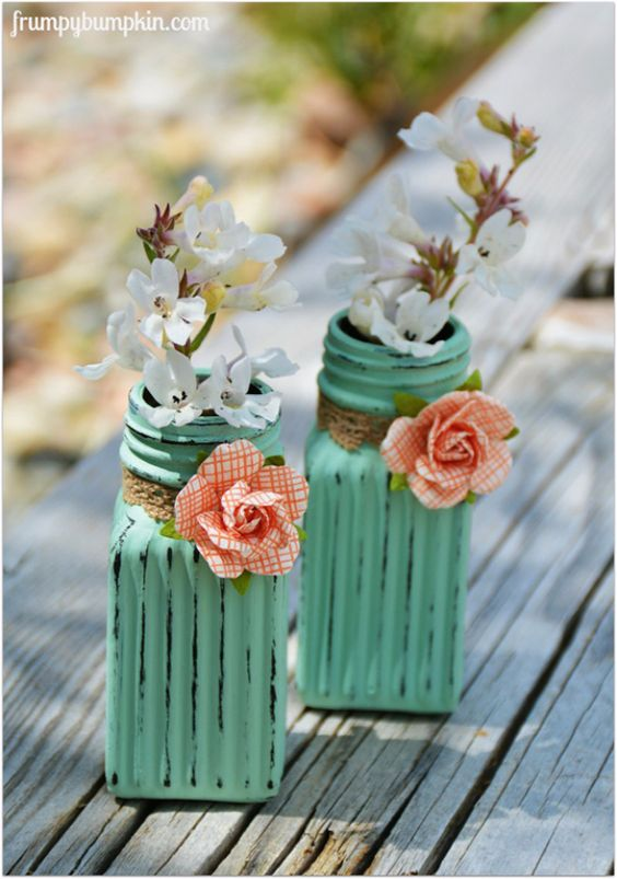 cute farmhouse decor from dollar store salt and pepper shakers