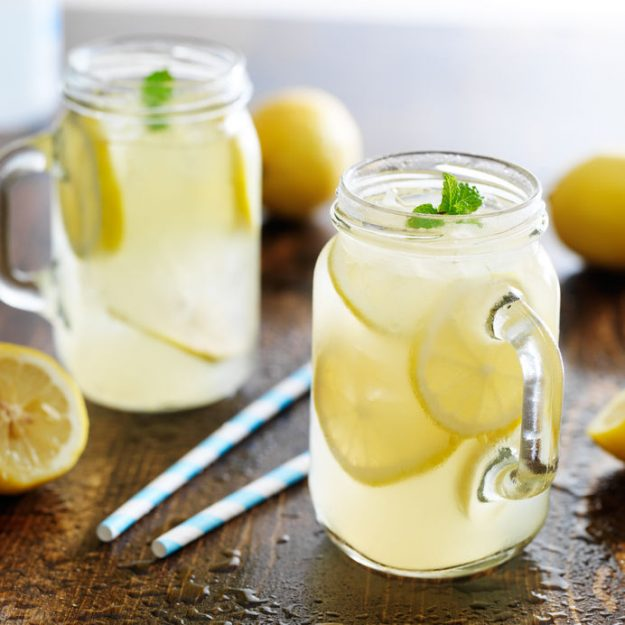 This fresh homemade lemonade taste just like the kind at our county fair - it's the best lemonade I've ever had (and no squeezing lemons!!)