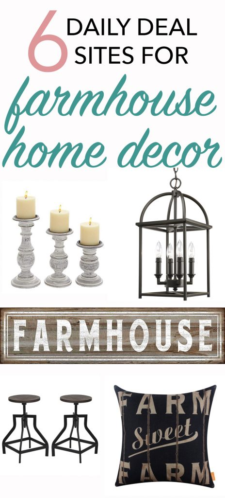 Where to find the best daily deal sites for farmhouse home decor