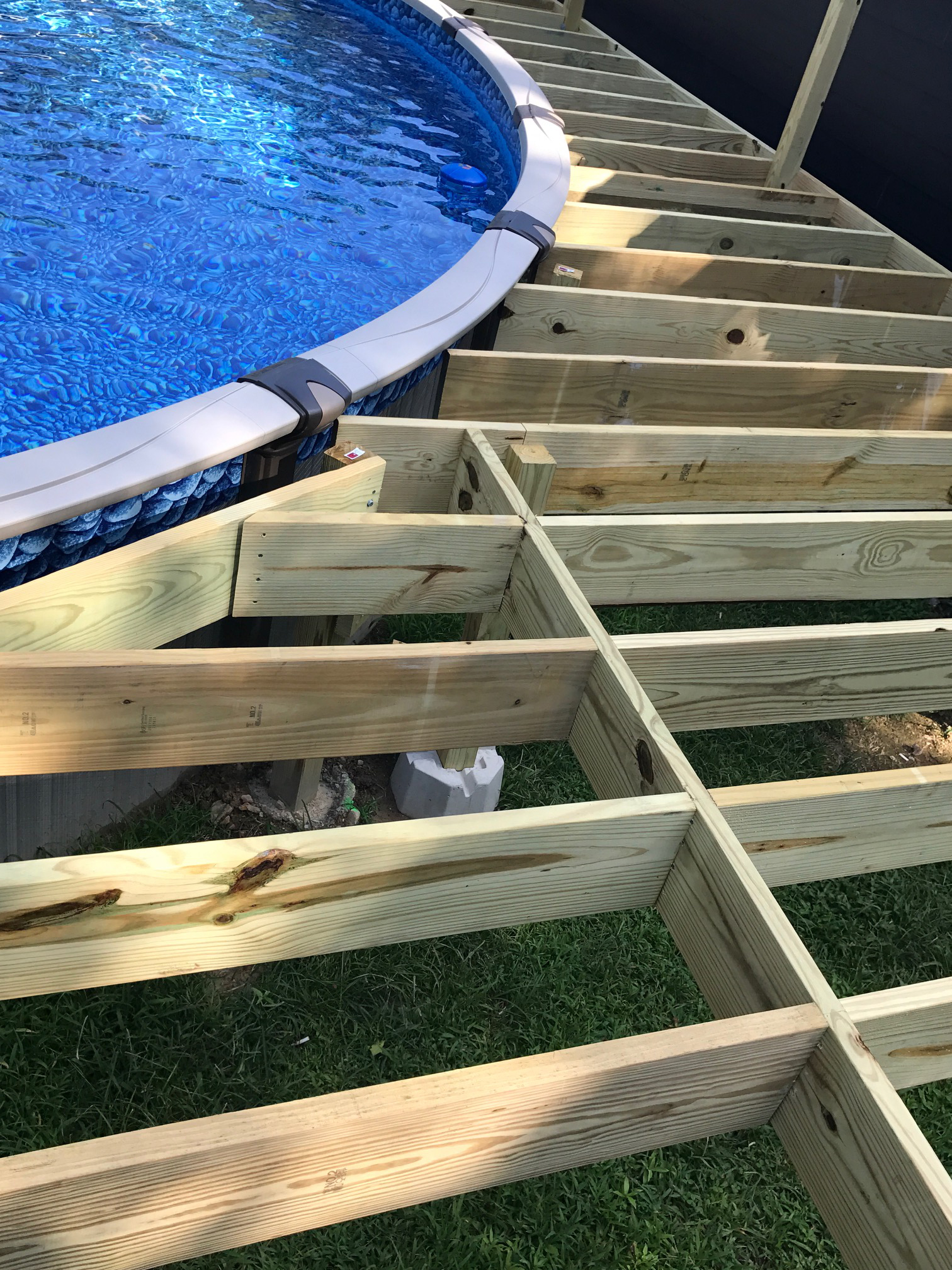 How To Deck All The Way Around An Above Ground Pool