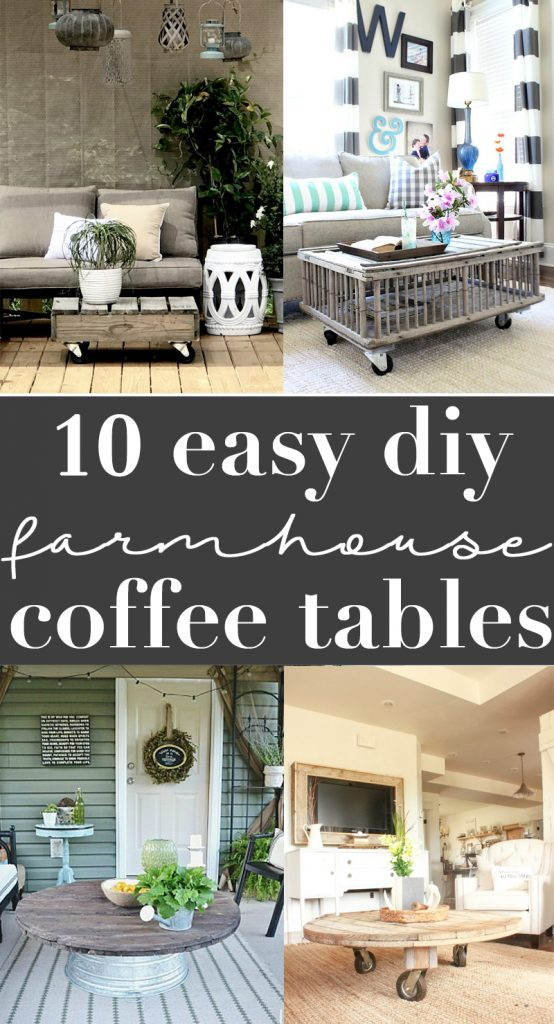 10 gorgeous rustic coffee table ideas you'll love