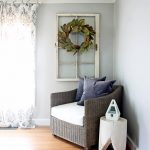 Gorgeous before and after of a modern farmhouse bedroom makeover!