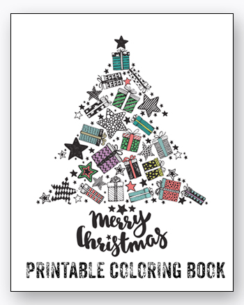 Get This Free Christmas Adult Coloring Book