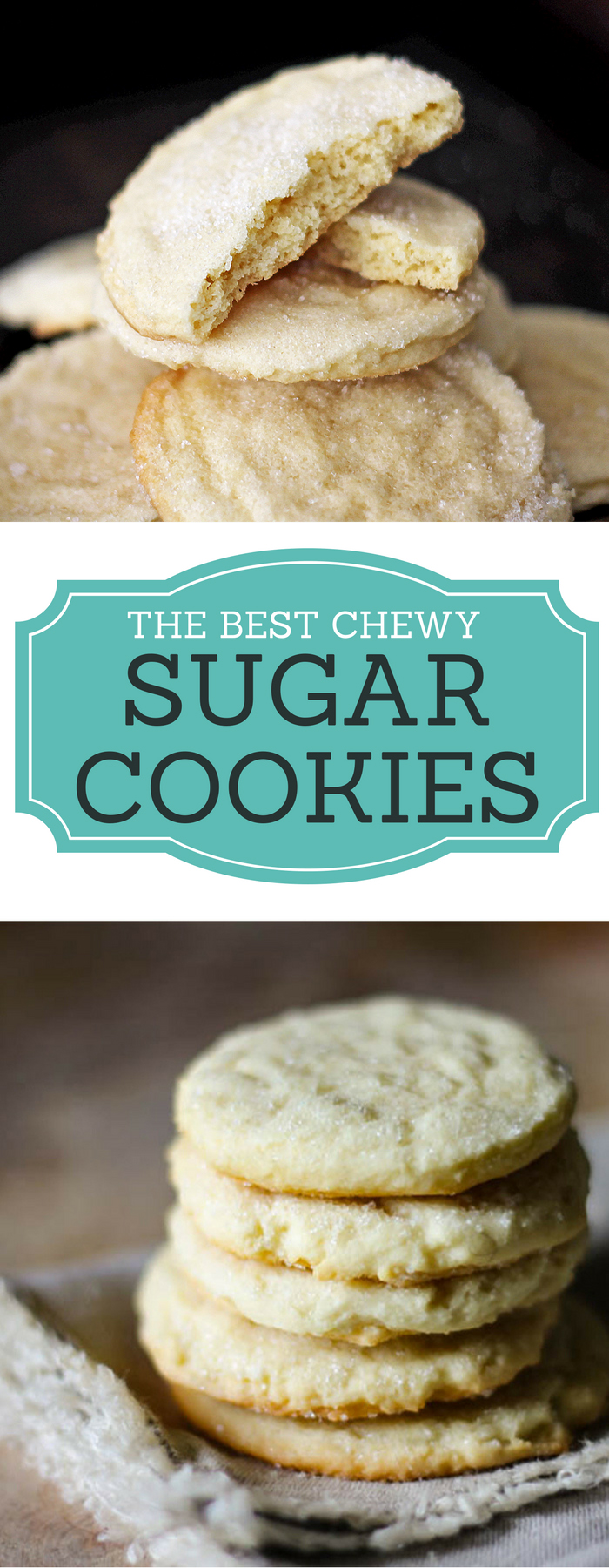 The secret ingredient in this chewy cookie recipe is so simple but makes all the difference!