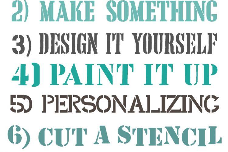 10 Beautiful Free Stencil Fonts