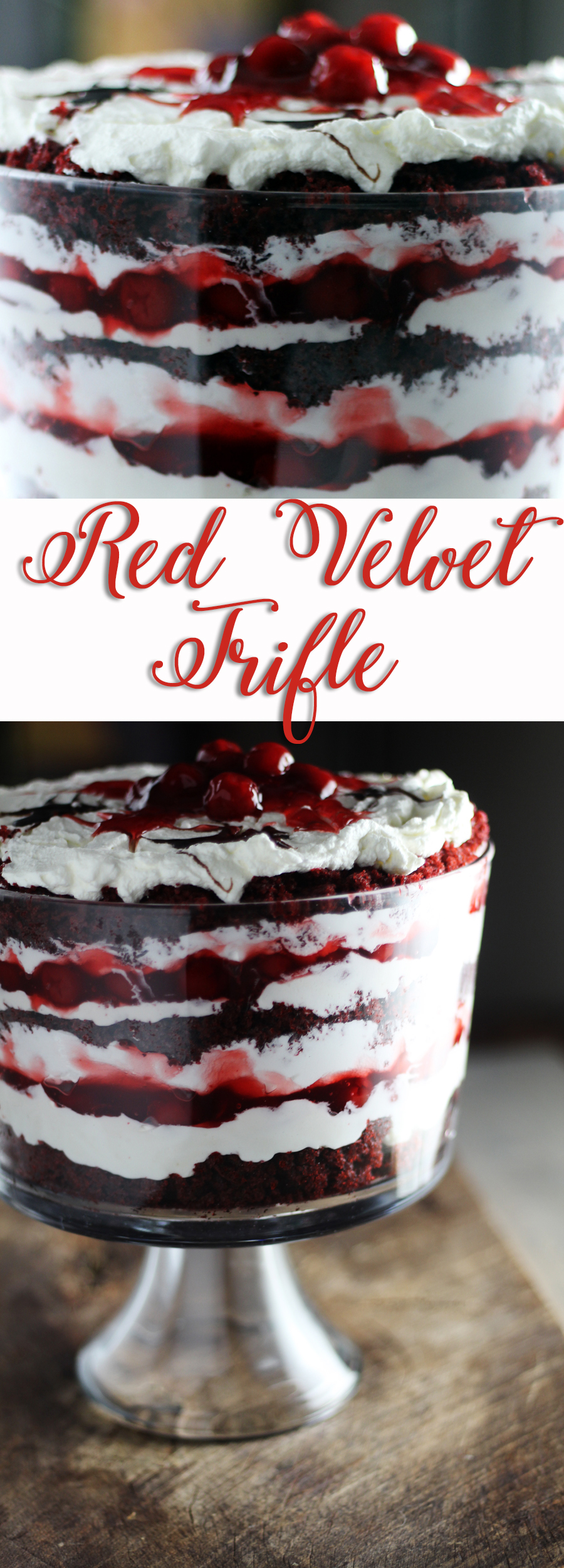 Easy & Delicious Red Velvet Trifle