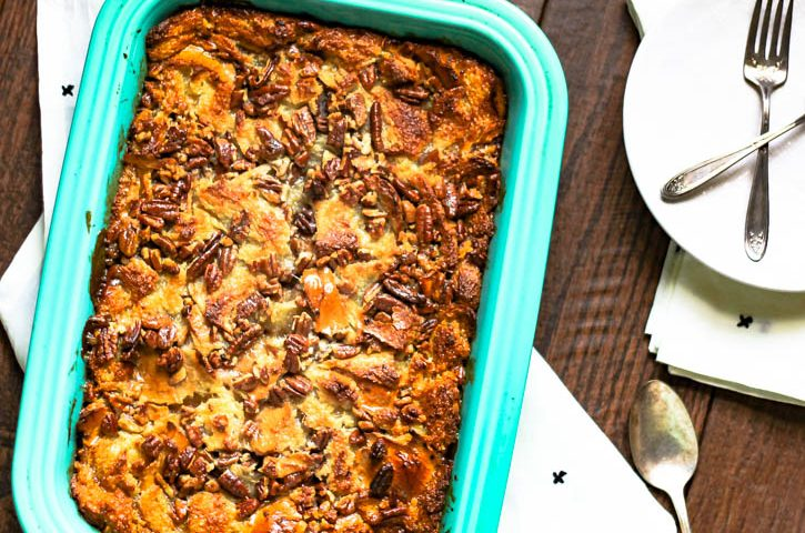 Have you ever tried Pecan pie Bread Pudding?