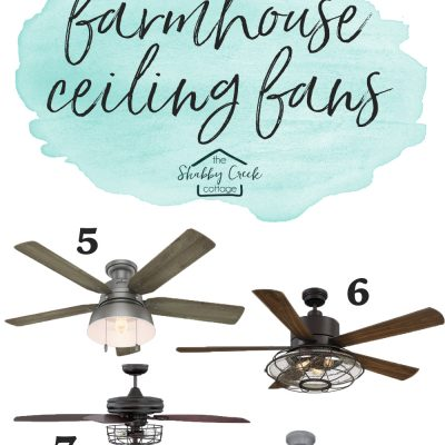 The Best Farmhouse Style Ceiling Fans