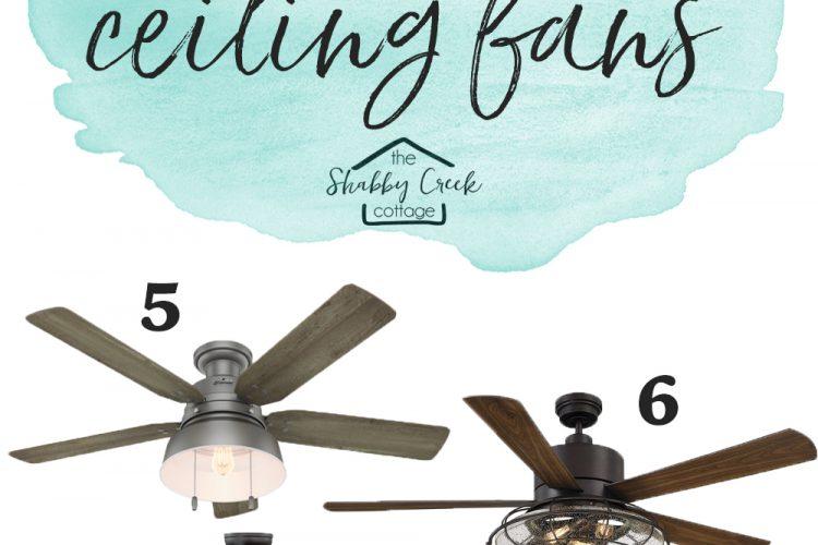 The Best Farmhouse Style Ceiling Fans