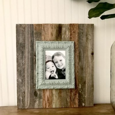 Easy DIY Farmhouse Style Photo Frame in 15 Minutes