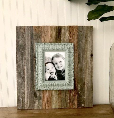 Easy DIY Farmhouse Style Photo Frame in 15 Minutes