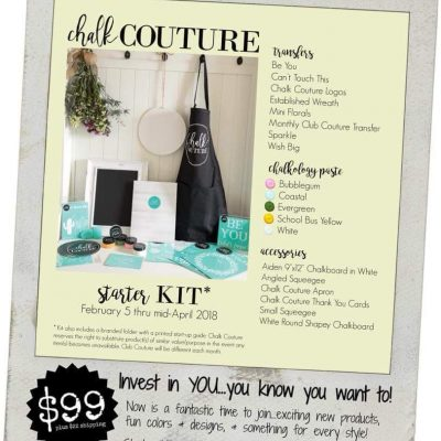 How to Get Started Selling Chalk Couture