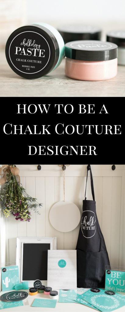 Learn how to start your own Chalk Couture Business in Minutes!