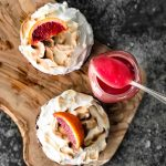 Blood Orange Meringue Pie from scratch - this blood orange dessert recipe looks AMAZING!
