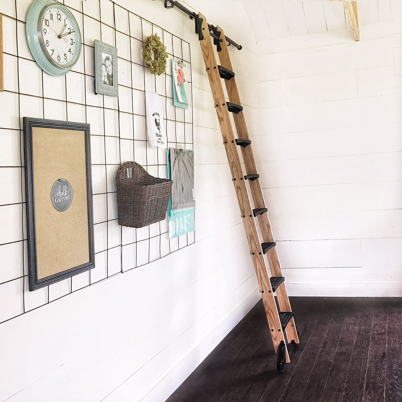How To Build A Library Ladder Step By Step In Depth Video