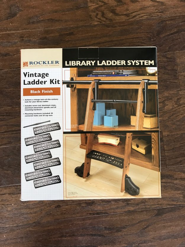 How To Build A Library Ladder Step By Video I Want One Of