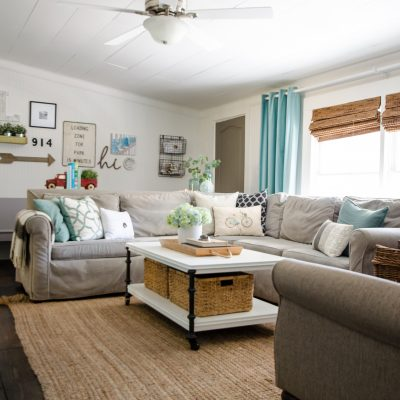 Summer Farmhouse Home Tour