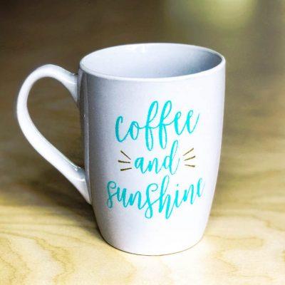 How to Make a Dishwasher Proof DIY Coffee Mug