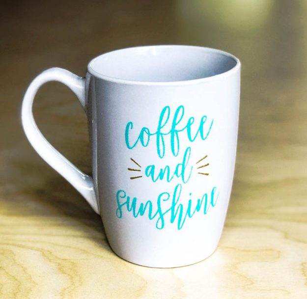 how to make a dishwasher proof diy coffee mug the shabby