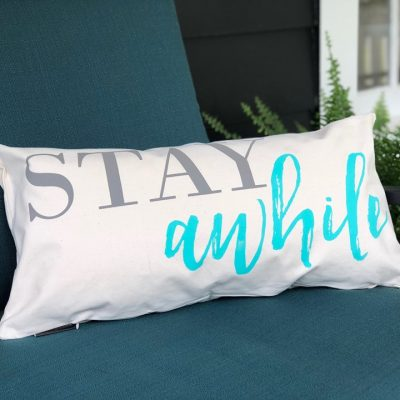How to Make a Printed Pillow in Under 20 Minutes