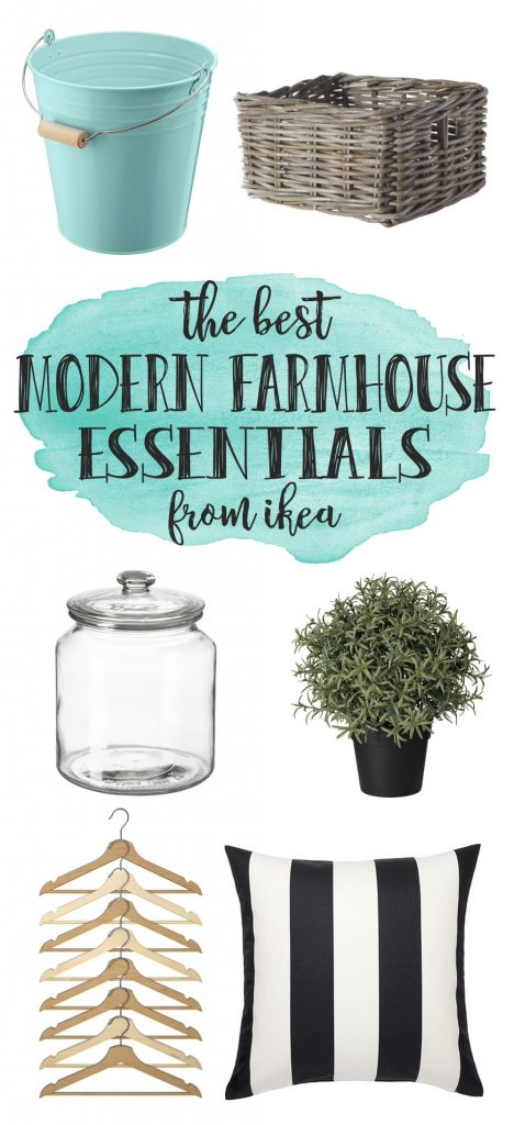 the best modern farmhouse essentials from Ikea