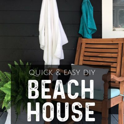 Make This: Easy DIY Beach House Sign