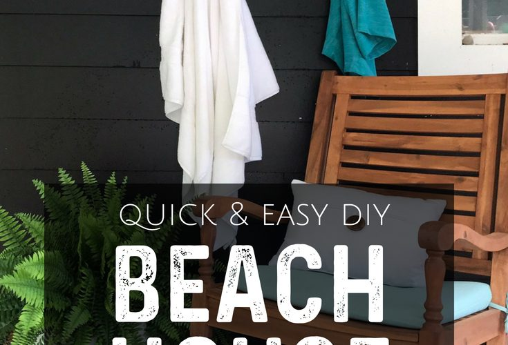 Make This: Easy DIY Beach House Sign
