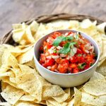 The perfect pico de Gallo that's easy and OH so good! It's better than any homemade version I've ever tried - and just as good as my favorite local place! #recipe #texmex #picodegallo #mexicanrecipes #food #foodblogger