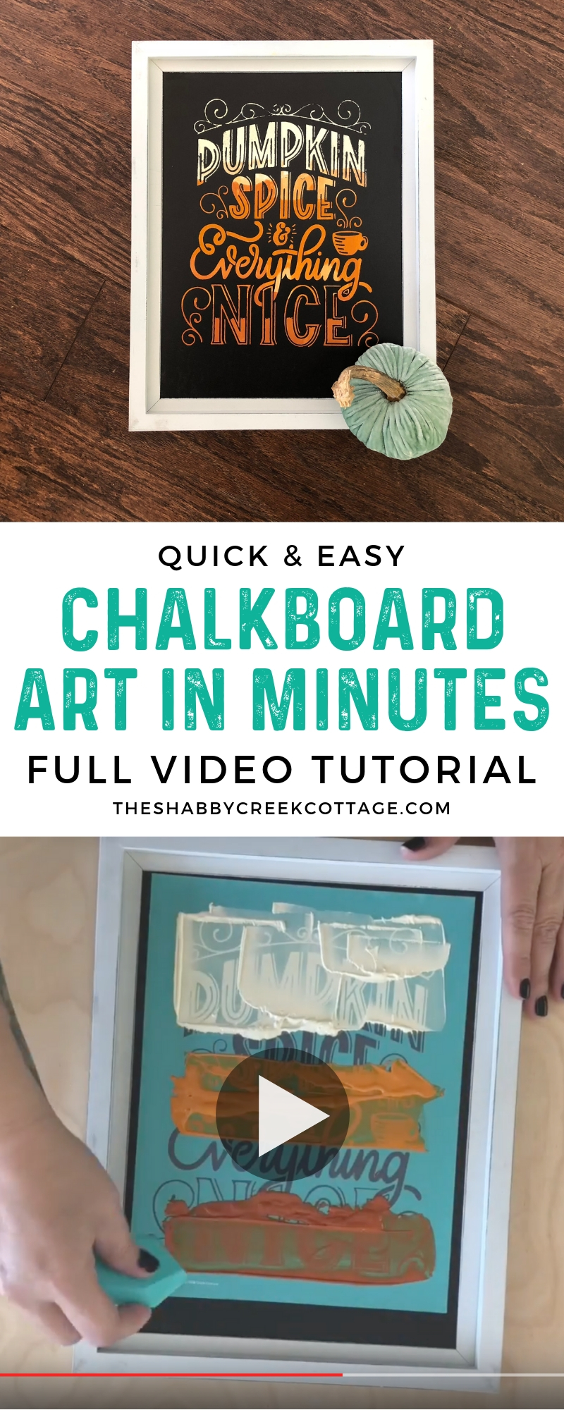 I can't believe you can do this with Chalk Couture paste! I love how quick it is to make projects with this paste.
