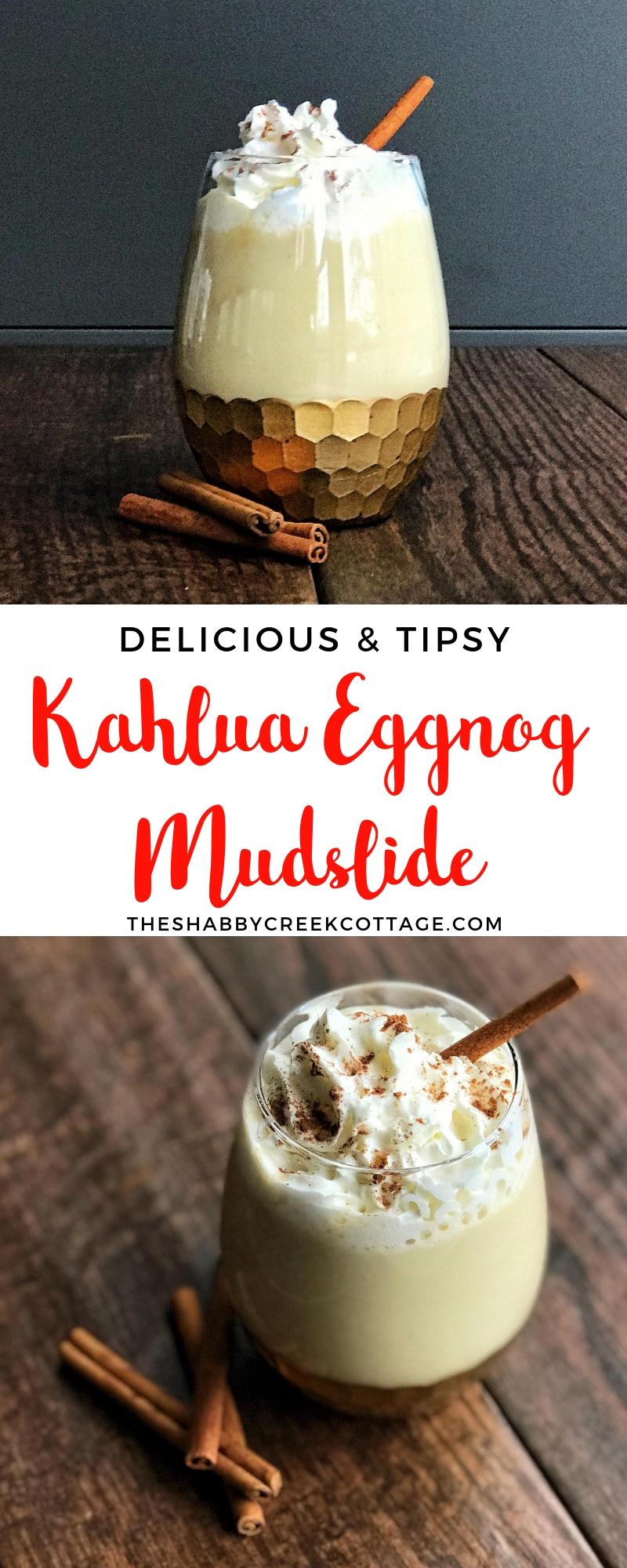 How To Make A Killer Eggnog Mudslide Drink For The Holiday