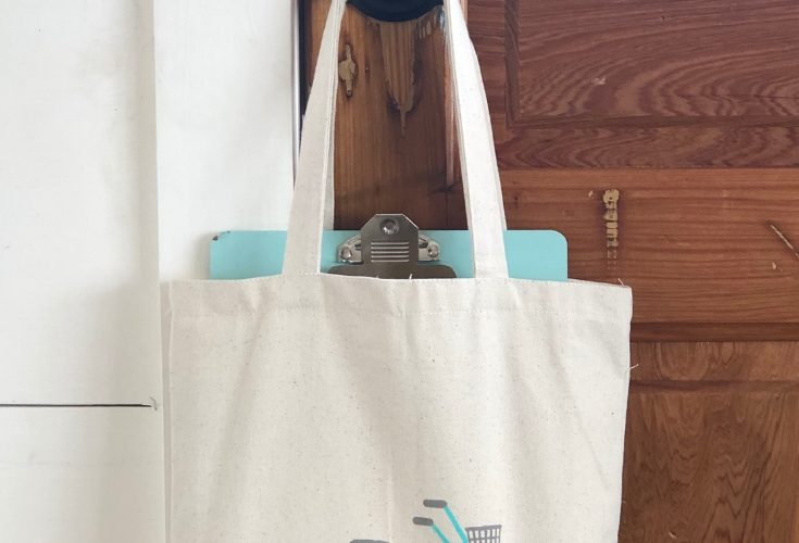 Personalize a Cotton Tote Bag With Chalk Couture Ink