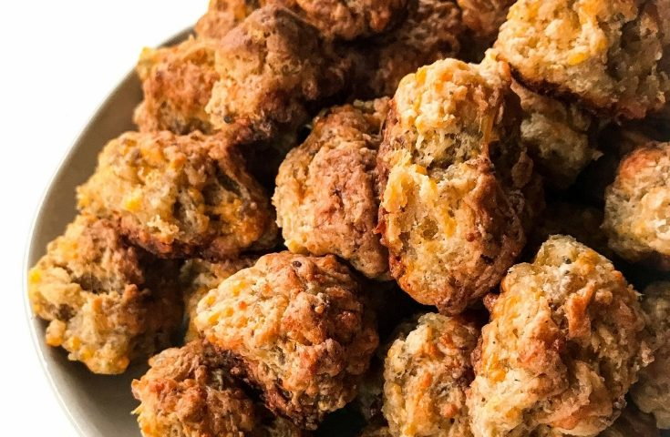 Easy and Delicious Cream Cheese Sausage Balls