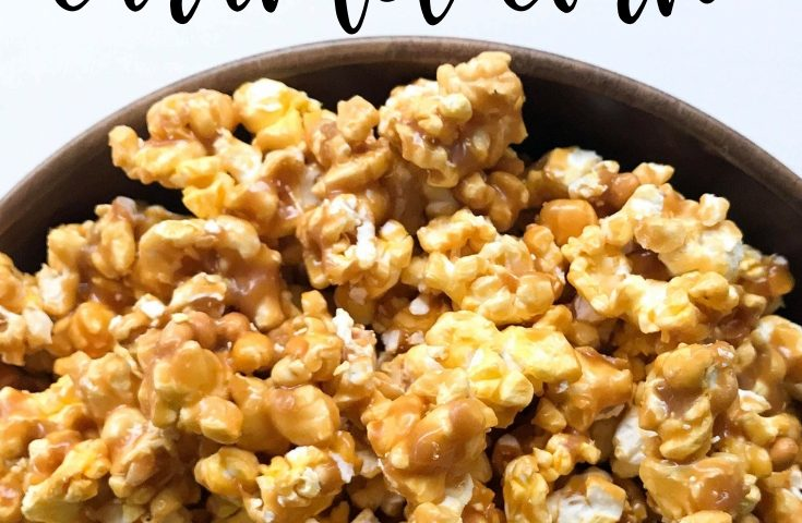 Quick & Easy Salted Caramel Corn