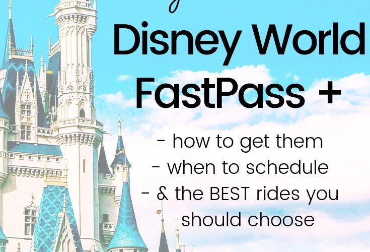Disney World Fast Passes 101