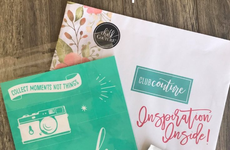 Club Couture Subscription box by Chalk Couture