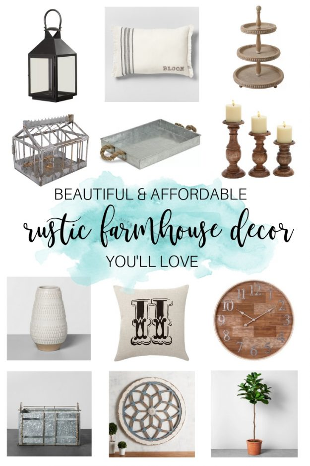 Beautiful and Affordable Rustic Farmhouse Decor You\'ll Love